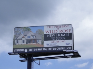 billboard roi Athens GA, billboard rental Athens GA